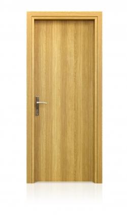 Εσωτερική πόρτα  laminate Δρυς με κατακόρυφα νερά