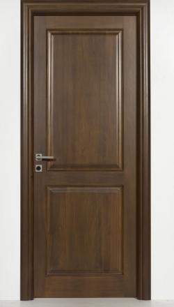 Εσωτερική πόρτα ημιμασίφ με 2 ταμπλάδες