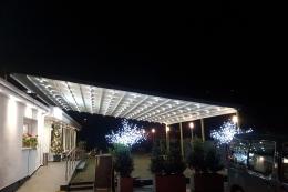 Πέργκολα Titan Standard, κατασκευή 100% αλουμίνιο & spot lights