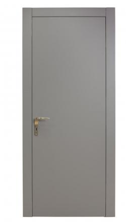 Εσωτερική πόρτα επίπεδη εξωτερικά με κρυφούς μεντεσέδες σε όλα τα χρώματα Ral