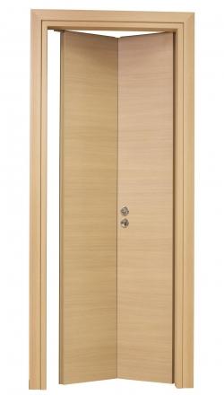 Εσωτερική πόρτα σπαστή σε δρύινο